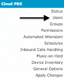 How do I log on to the mobile app with my Cloud PBX user extension